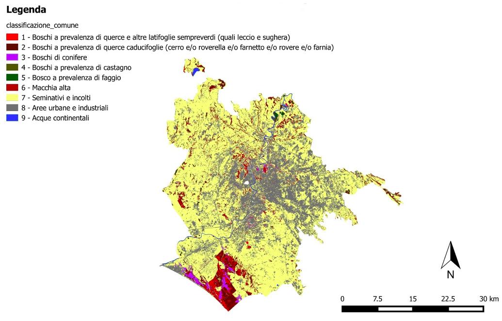 Aria e verde urbano viias for Ufficio decoro urbano comune di roma